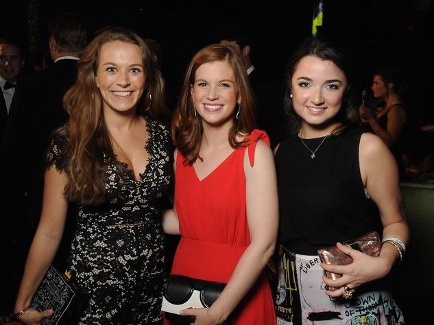Memorial Hermann Gala, From left Kate Beeler, Ashley Brown and Kimberly Landa