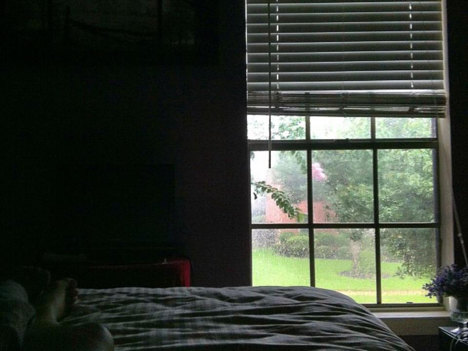 rain, storm, weather, bedroom