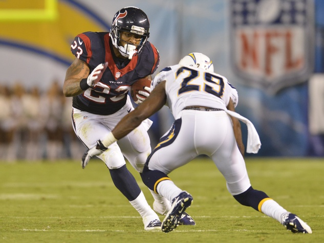 Arian Foster Texans Chargers