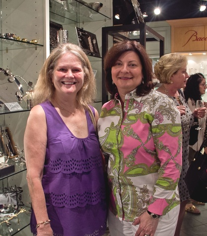 Houston, Michael Aram party watch, May 2015, Diane Fitzgerald, Cecilia Campbell