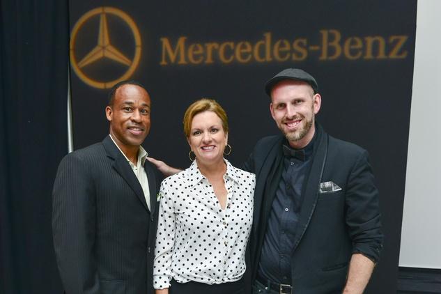 Project Runway Winner Justin LeBlanc at Mercedes Benz Sugar Land