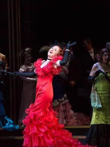 Houston Grand Opera Die Fledermaus October 2013 Laura Claycomb, Adele