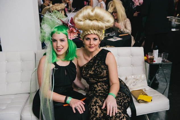 7 at the Hair Ball January 2014