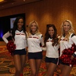 News, Shelby, Souperbowl of Caring luncheon, Texans cheerleaders, Sept. 2014