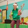 DJ Claude the Elf at Children's Museum Grinch party
