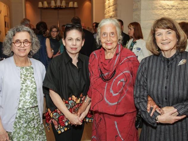 Katy Prairie Conservancy Gala 2015 Mary Anne Piacentini, Janet Spencer, Terry Hershey, Judy Boyce