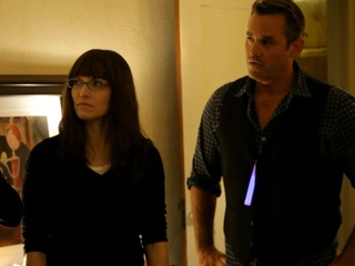 Lorene Scafaria and Nicholas Brendon in Coherence