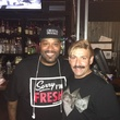 Bun B, left, and Juan Carlos at the CultureMap Social at Boheme September 2014