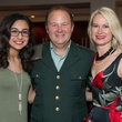 Mariana Pitts, Jeffrey Pitts, Michelle Pitts at Mission for Yahweh gala
