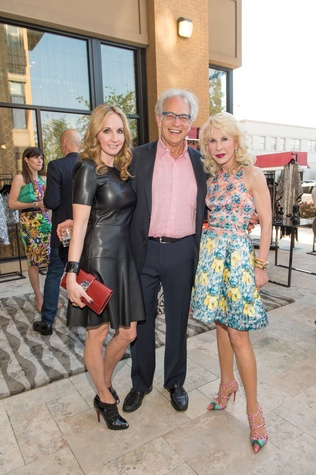 Tootsies Patio Party, May 2015, Sharin Norman, Mickey Rosmarin, Diane Lokey Farb