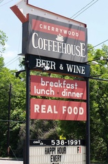 Austin photo: Places_Drink_Cherrywood Coffeehouse_Sign