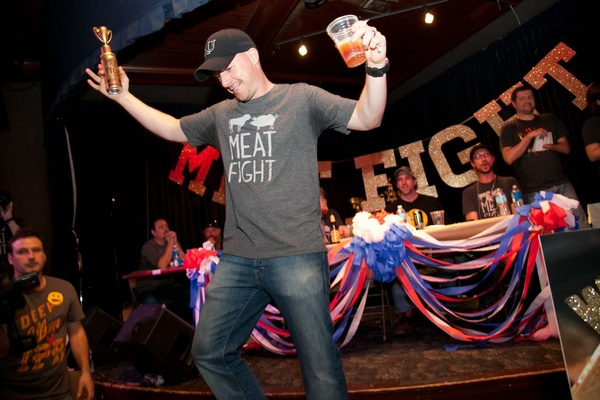 Eric Hansen at Meat Fight in Dallas