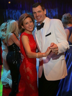Christina and Mark Hanson