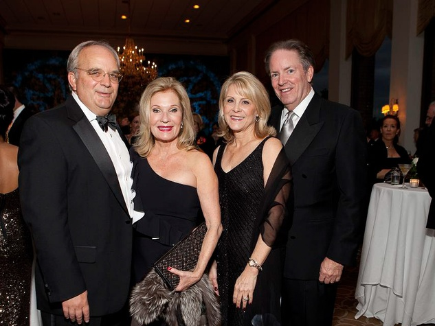 312 Robert and Janet Rhodes, from left, and Morris and Rhonda Jones at the Blue Bird Circle Gala October 2013
