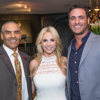 Moran Norris gala, Herm Edwards, Chita Craft, Lane Craft