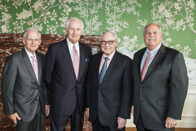 News, Shelby, Men of Distinction luncheon, May 2015, Harry Mach, John Riley, Dr. Bud Frazier, David Weekley