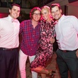 27 Richard Campo, from left, Will Walsh, Lindsey George and Jeremy Smith at the Pink Party at Hotel ZaZa July 2014