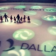 Ice skating rink at Galleria Dallas