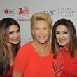 Go Red for Women luncheon Dr. Monica Patel, Joan Lunden, Sneha Merchant