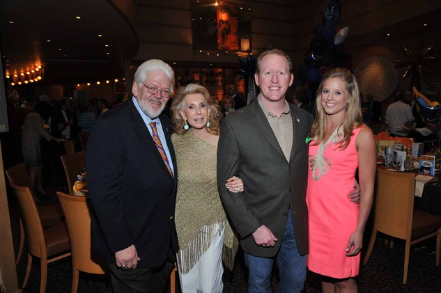 Houston, News, Shelby, Escape Celebrity Serve Benefit, April 2015, Gerald Franklin, Joan Schnitzer Levy, Rob O'Neill, Laura Godfrey