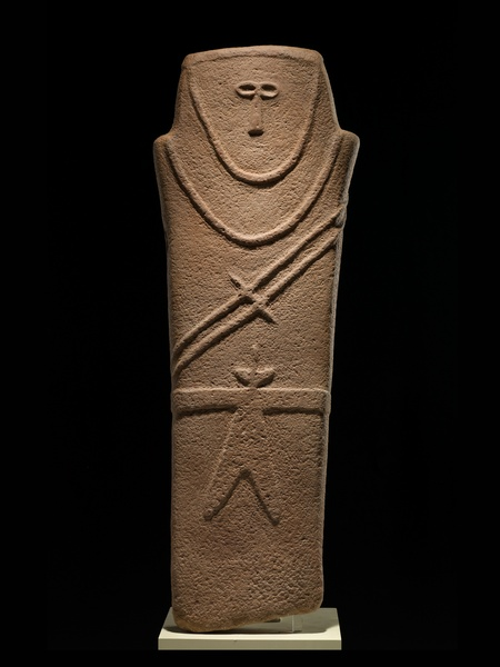 Roads of Arabia Anthropomorphic-stele