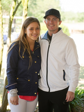 5 Krystal and Garrett Thompson at the Children's Museum Spring Golf Classic April 2014