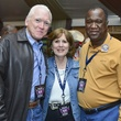 3 Bill Fisk, from left, Becky Virtue and Stan Hixon at the Houston Rodeo barbecue cook-off February 2014