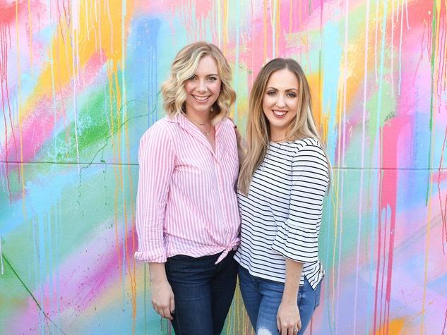 Megan Birkel, Meg Owen at More Colore Please launch