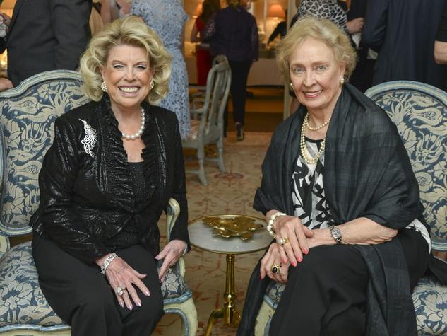 9 Houston Ballet reception April 2013 Joan Lyons, Sara White