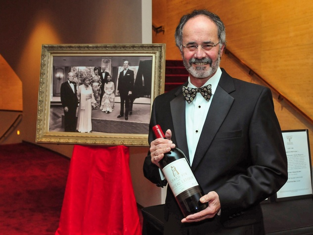 Bob Weiner at the Houston Symphony Wine Dinner March 2014