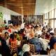 Sorrel Urban Bistro restaurant dining room with crowd August 2013