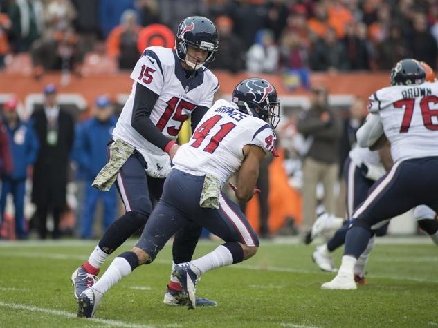 12 Texans vs. Browns first-half November 2014  Ryan Mallett