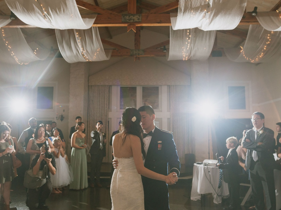 Pauline and Dayle Chang first dance