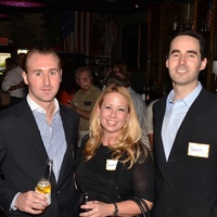 Houston Social Source, Jeremiah Hartley, Genevieve Woodard, Brent Greenfield, Sept. 2012