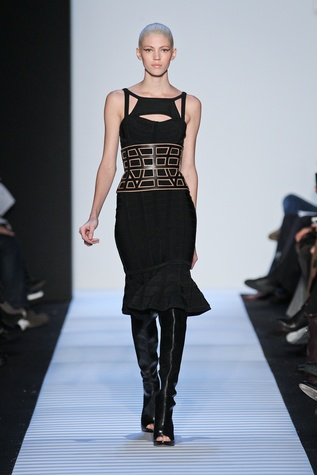Herve Leger fall 2014 collection, look 2