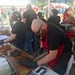 Houston Barbecue Festival Louie Mueller meat