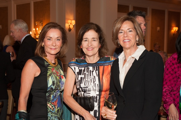 Melanie Gray, from left, Andrea White and Krista Dumas at the Jung Center Spring Benefit April 2015