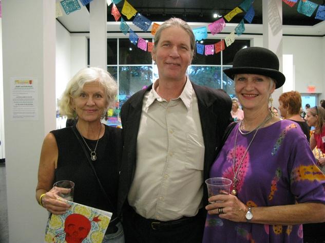 News, Shelby, Lawndale Dias de los Muertos, October 2014, Pen Morrison, John Linden, Alicia Duplan