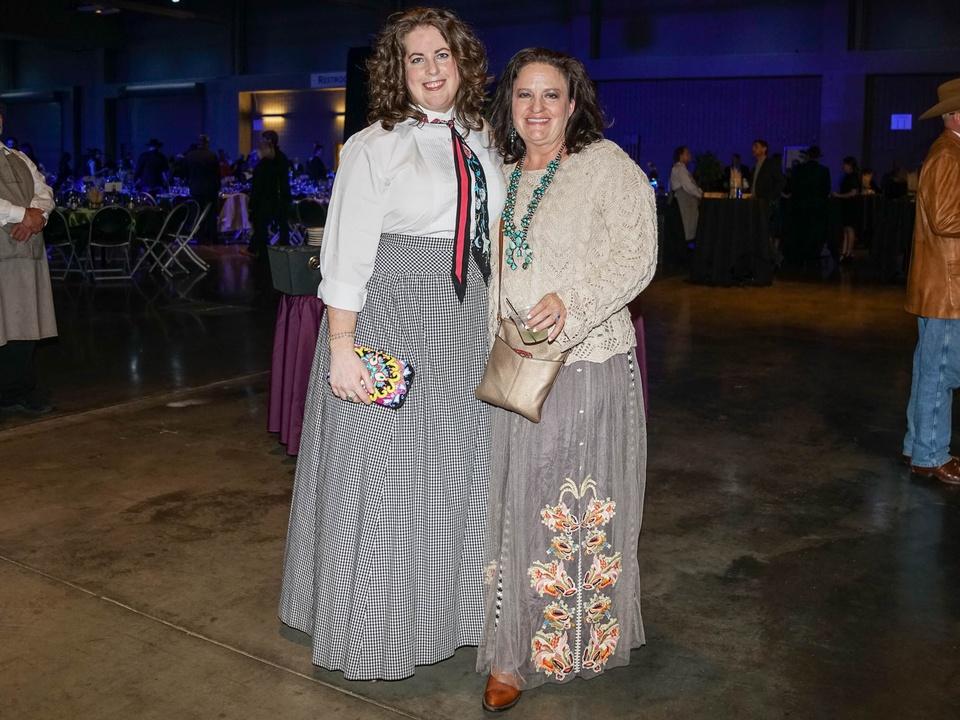 Austin Rodeo Gala 2018 Fashion Elizabeth Charters Kristin Belt