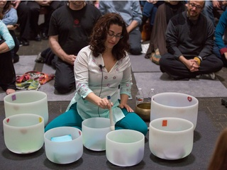 The Rothko Chapel presents New Year's Day Crystal Bowls Meditation
