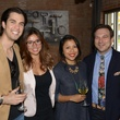 Joshua Ibarra, from left, Tiffany Guillen, Ecky Prabanto and David Buehrer at the Urban Wild of Memorial Park Conservancy's Launch Party March 2015