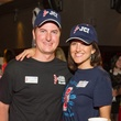 Will and Caroline Brown at the St. Luke's PULSE Saints & Sinners Halloween party October 2013