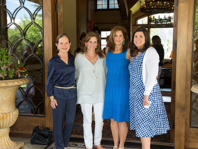 Houston Methodist in Aspen, July 2016, Hetta Heath, Anne Csorba, Kimberly Dominy, Lesha Elsenbrook