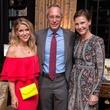 Gabriela Cotton, Mark Sullivan, Alexandra Knight at Lynn Wyatt dinner