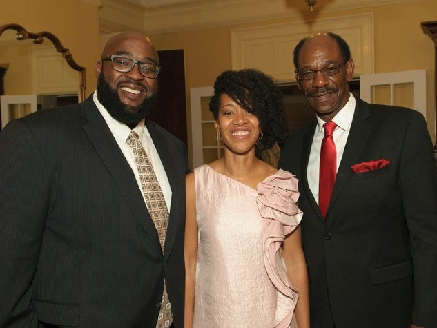Edward Franklin, Michele Franklin, Ron Washington, Voice of Hope dinner