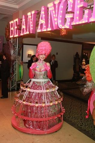 Be An Angel Gala 2015 Sweet Affair Champagne Diva