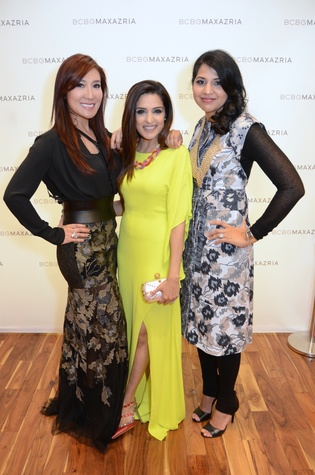 7 Mandy Kao, from left, Sneha Merchant and Nihala Zakaria at Mandy Kao and Nihala Zakaria birthday party October 2014