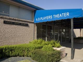 Places-A&E-A.D. Players Theater-front entrance-1