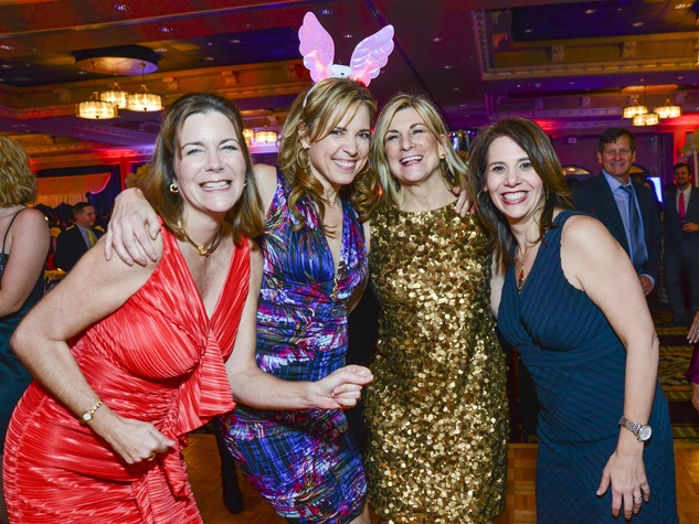 23 Jennifer Johnson, from left, Hannah Storm, Susan Strelcow and Judy Cohen at Memorial Hermann's Under the Stars Gala November 2013