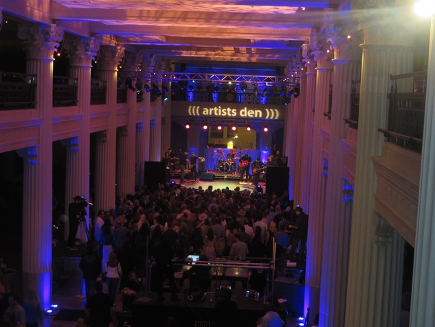 Tim McGraw in private concert at The Corinthian March 2014